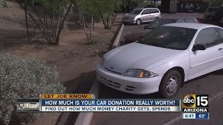 How much is your car donation really worth it?