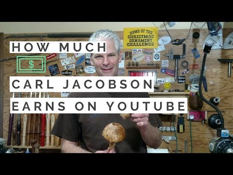 How much money does Carl Jacobson make on Youtube