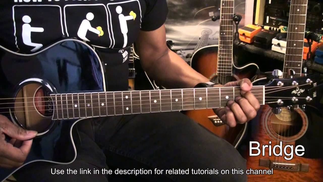 How To Play BETTER THAN WORDS One Direction On Acoustic Guitar Tutorial Lesson EricBlackmonGuitar