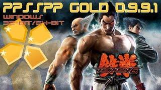 Tekken 6 With PPSSPP Gold 0.9.9.1 On Windows 32bit-64bit [FULL]