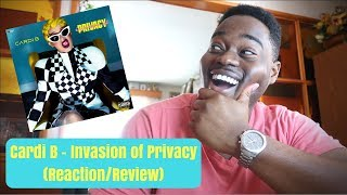 Cardi B - Invasion of Privacy (Reaction/Review)