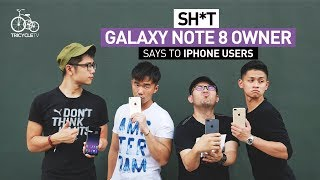 Sh*t Galaxy Note 8 Owner Says To iPhone Users | TricycleTV thumbnail