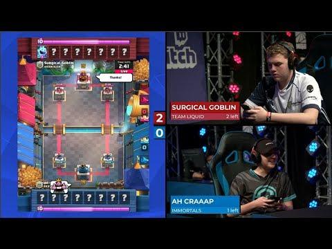 TEAM LIQUID VS TEAM IMMORTALS | Clash Royale SXSW Gaming Tournament 2018