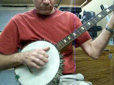 Vintage Supertone Banjo, Cindy - Ebay sample
