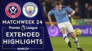 Sheffield United v Manchester City  PREMIER LEAGUE HIGHLIGHTS  1212020  NBC Sports