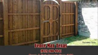 Fence Gate Construction Dallas, Tx (972) 200-9841 By Fence Max Texas
