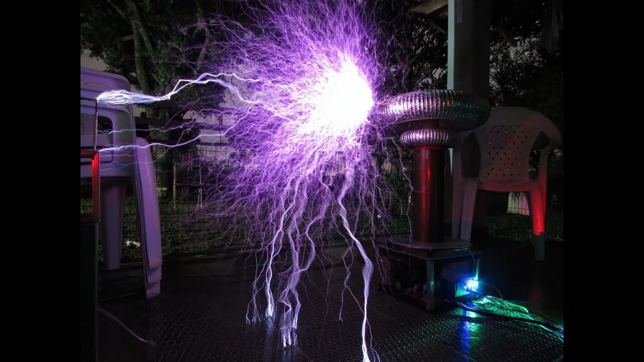 One Republic Secrets Em Bobina De Tesla Eletr 244 Nica Musical Tesla Coil Youtube
