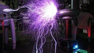One Republic - Secrets em Bobina de Tesla Eletrônica (Musical Tesla Coil)