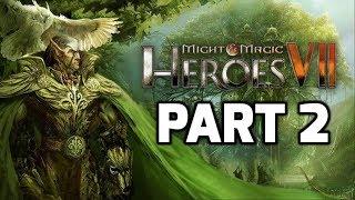 Might & Magic Heroes VII: Sylvan Campaign Part 2 (Wysloth and Danan  - Map 2)