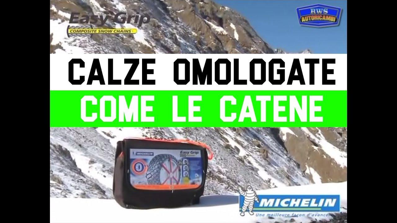 prezzi al dettaglio prezzo abbordabile outlet Calze-Catene da neve OMOLOGATE - Michelin