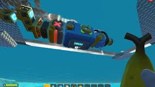Scrap Mechanic Survival | Mod/Script - Water Cannon Jetski - One File Change