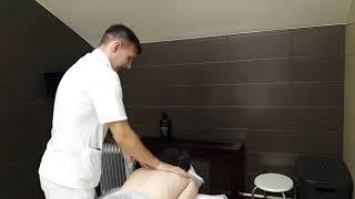 Лечебный массаж спины в Москве. Лечебный массаж при остеохондрозе. Клиника Тибет.