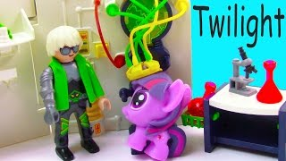 MLP Fashem's Twilight Mad Scientist Lab Unicorn Magic My Little Pony Pinkie Pie Video