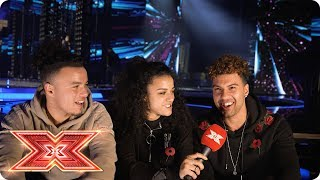 The Cutkelvins are ready to bring the fire Backstage The X Factor 2017