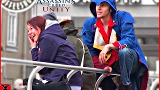 ASSASSINS CREED UNITY in Real Life [Public Pranks]