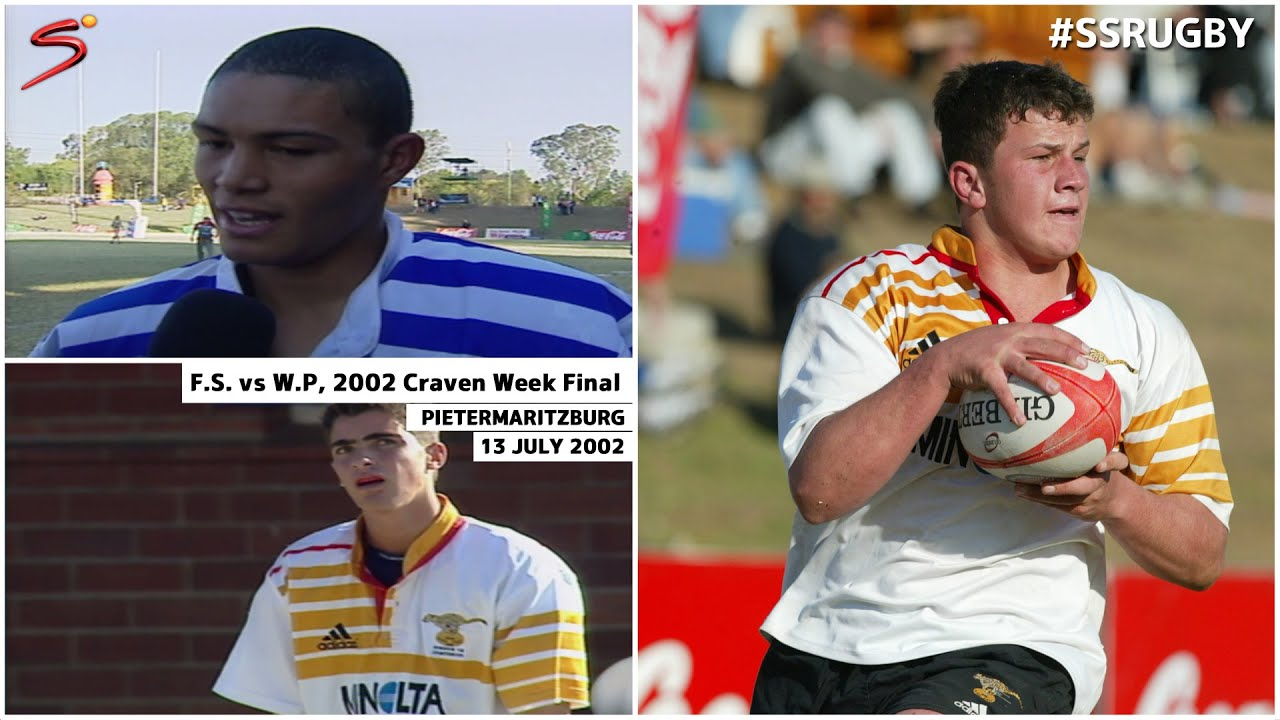2002 Craven Week Final Western Province Vs Free State Youtube