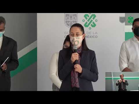 Inauguración de plantas potabilizadoras en Azcapotzalco