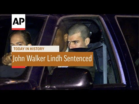 John Walker Lindh Sentenced - 2002   Today In History   4 Oct 17