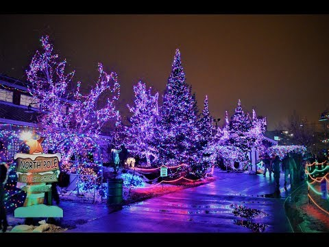 Bentleyville Holiday Christmas Light Display, Duluth, Minnesota From Travel With Iva Jasperson