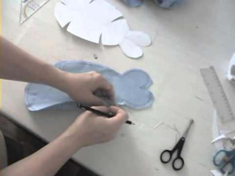 Teil 2: Schnittmusterherstellung für einen Fisch - YouTube