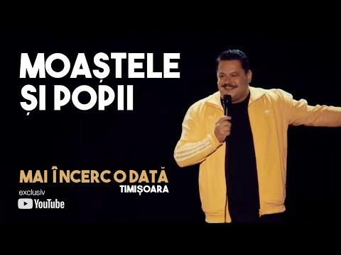 Mihai Bobonete - Moastele si popii (stand up / Show Mai incerc o data / Timisoara)