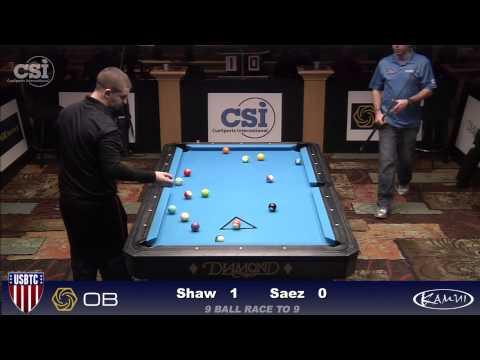 2015 USBTC 8-Ball: Jayson Shaw vs Robb Saez