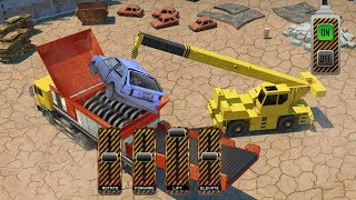 Junk Car Crusher Crane Driver Dump Truck Simulator (by Reality Gamefield) Android Gameplay [HD] screenshot 1