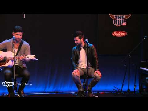 Dan and Shay - Thinking Out Loud (98.7 THE BULL)