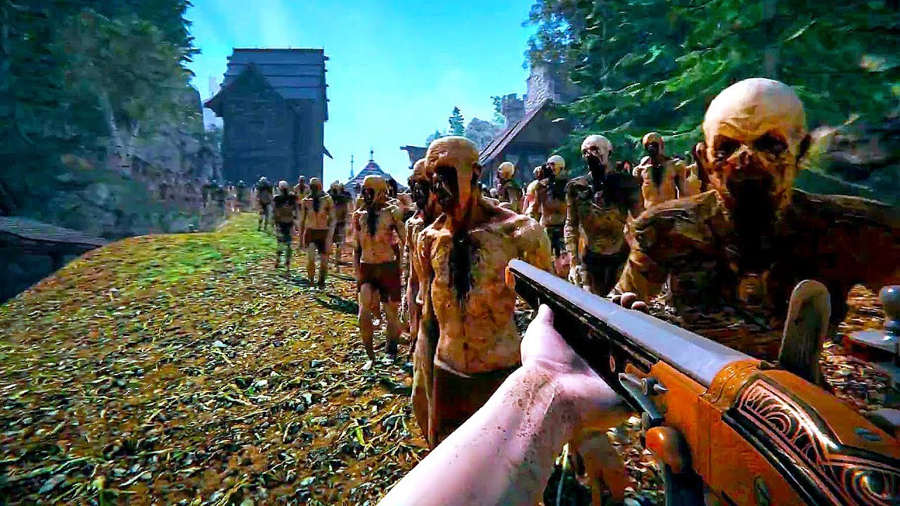 THE BLACK MASSES - Official Gameplay Trailer (New Open World Zombie Game 2019)