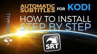 How to install automatic subtitles for Kodi step by step tutorial