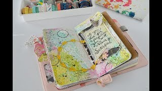 Mixed media  Quote Journal