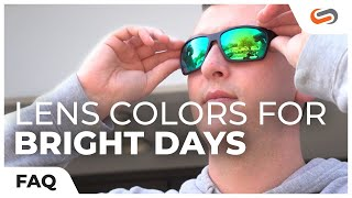 Which Lens Colors are Best for Your Sunglasses on Bright Days? | SportRx
