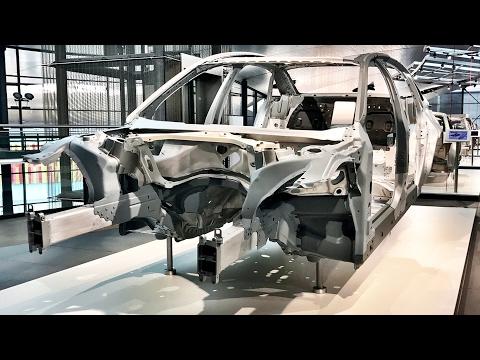 Audi A8 2018 - Der Audi Space Frame - Die Technik hinter dem neuen Audi A8 (D5)