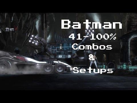 IGAU:Batman Combos(41-100%)