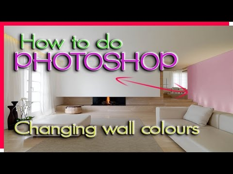 how-to-change-wall-colours-in-photoshop-|-how-to-do-photoshop