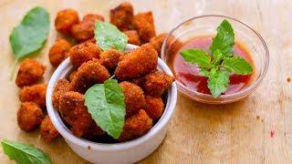 How To Make Chicken Popcorn  Chicken Popcorn Recipe  Easy Snacks Recipe