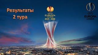 Лига Европы 2019 - 2020 / 2 тур / Результаты