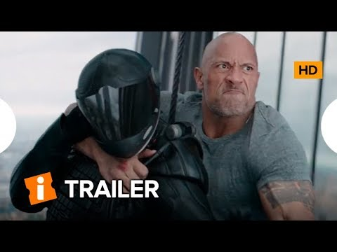 Dwayne Johnson e Jason Statham, Detonando no Trailer HOBBS & SHAW