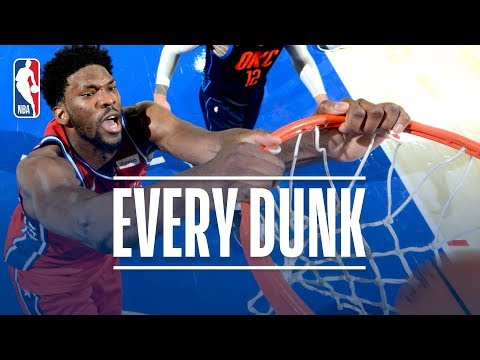 Domantas Sabonis, Russell Westbrook, and Every Dunk From Friday Night | December 15, 2017
