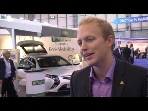 British Photovoltaic Association at Solar Power UK 2012
