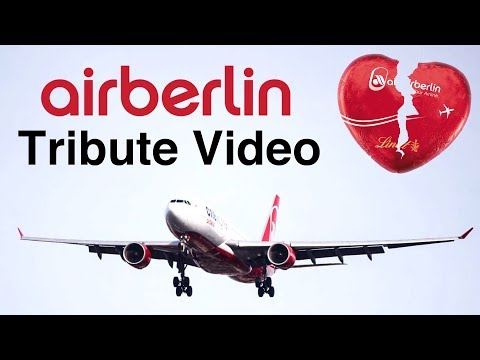 AIRBERLIN TRIBUTE Thank you for 38 years of flight!