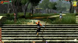 Gods & Heroes: Rome rising Gameplay Starting area First look - MMO HD TV (1080p)
