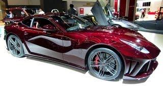 2013 Ferrari F12 Berlinetta-La Revoluzione Mansory-Exterior Walkaround 2013 Frankfurt Motor Show