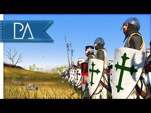 BATTLE OF ALJUBARROTA (1385AD) - Medieval Kingdoms Total War 1212AD Mod Gameplay