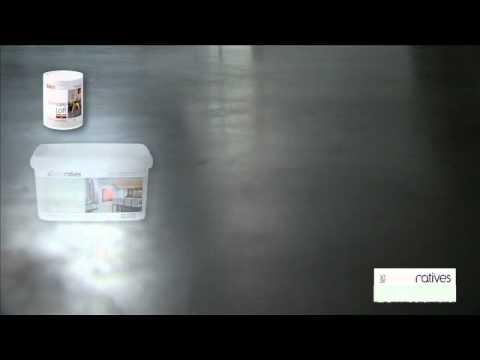 Loft b ton cir mov youtube - Peinture aspect beton ...