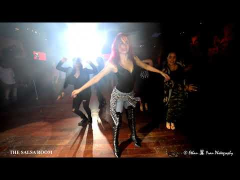 WOMANITY By MARIA RAMOS Class Demo @ THE SALSA ROOM