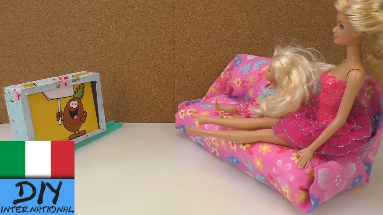 diy costruire tv parete per barbie tv per barbie fai da