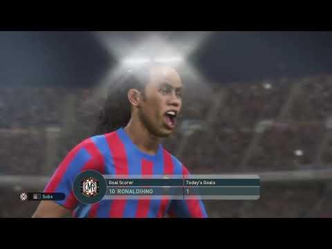 PES - Barcelona Classics VS Real Madrid Classics, El Classico