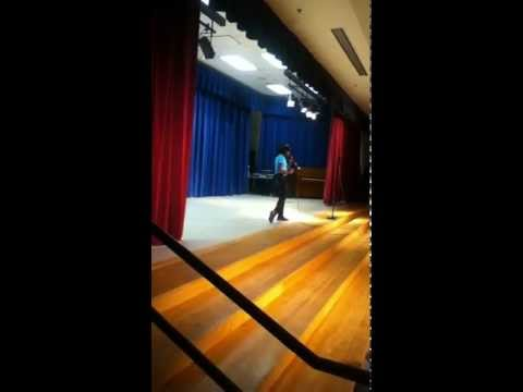 10 year old Erica S.Taylor of Dunwoody Elementary School Talent Show