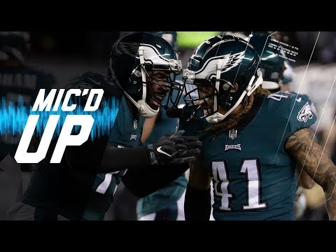 Micd Up Falcons vs Eagles Divisional Round This is the Season Right Here  NFL Sound FX